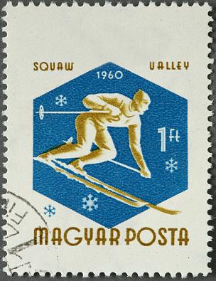 Ski stamp